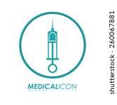 medical design  vector... | Shutterstock .eps vector #260067881