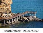 Pier View In Dalian. China
