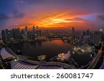 singapore   may 21  the... | Shutterstock . vector #260081747