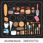 Kitchen Set  With Various...