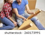repair  renovation and people... | Shutterstock . vector #260173991