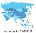 vector illustration of blue... | Shutterstock .eps vector #260231117