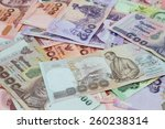 new thailand bank notes | Shutterstock . vector #260238314