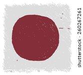 flag of japan square shape   Shutterstock . vector #260267261