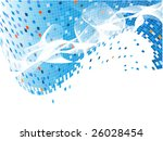 vector colorful backdrop with... | Shutterstock .eps vector #26028454
