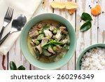 Portrait Of Thai Green Curry...