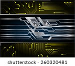 dark black color light abstract ...   Shutterstock .eps vector #260320481