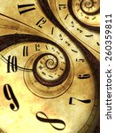 abstract time background... | Shutterstock . vector #260359811