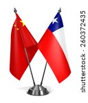 Постер, плакат: China and Chile