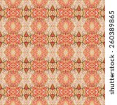 abstract strawberries pattern... | Shutterstock . vector #260389865