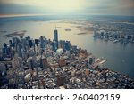new york city manhattan... | Shutterstock . vector #260402159