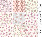 Floral Seamless Vintage Patter...