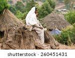 lalibela  ethiopia   february... | Shutterstock . vector #260451431