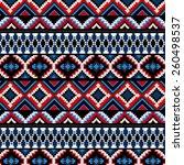ethnic pattern | Shutterstock .eps vector #260498537