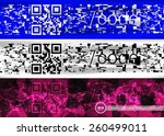 Colorful Qr Code Abstract...