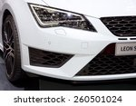 2015 seat leon st cupra... | Shutterstock . vector #260501024