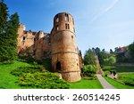 Beaufort Castle Ruins On Sprin...