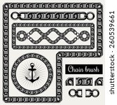Vector Decorative Chain Design...