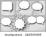 cartoon explosion frames vector illustration of some comic frames as background with speech bubbles