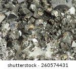 Small photo of Closeup macro picture of black lead ore irregular texture
