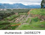 Ancient Greek Ruins At The...
