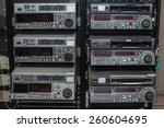 professional video recorder. | Shutterstock . vector #260604695