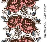 abstract elegance seamless... | Shutterstock .eps vector #260644589
