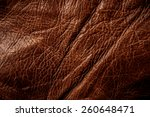 Постер, плакат: Red Brown Leather for