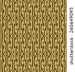 gold celtic knot triquetra...   Shutterstock .eps vector #260649095