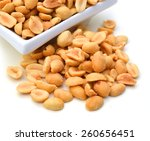 Peeled Salted Peanuts And Whit...