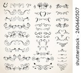 vector illustration of... | Shutterstock .eps vector #260660507