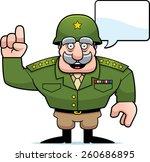 an illustration of a cartoon... | Shutterstock .eps vector #260686895