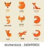 fox signs  illustrations and...