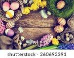Easter Vintage Background ...