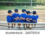 Five Little Boys Put Their Arm...