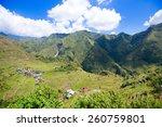 rice terraces in the...   Shutterstock . vector #260759801