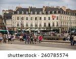 vannes  france   august 14 ... | Shutterstock . vector #260785574