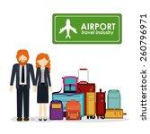 travel icon design  vector... | Shutterstock .eps vector #260796971