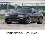 toyota supra trd   Shutterstock . vector #2608628