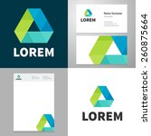 design icon element with... | Shutterstock .eps vector #260875664