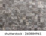 classic tile wall texture for... | Shutterstock . vector #260884961