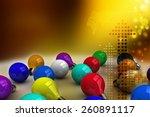 3d color bulbs | Shutterstock . vector #260891117