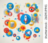abstract vector concept with...