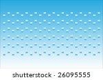 pixels blue gradient | Shutterstock .eps vector #26095555