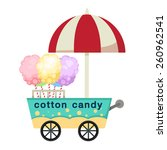 Cart Stall And Cotton Candy...
