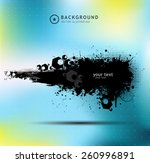 grunge banners for your design  | Shutterstock .eps vector #260996891