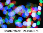 colors bokeh abstract light... | Shutterstock . vector #261000671