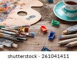 Paintbrushes  Artist Palette ...