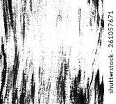 vector grunge texture. white... | Shutterstock .eps vector #261057671