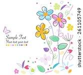 Decorative Spring Flowers...